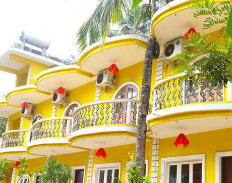Book hotel in Goa around calangute beach