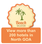 View Hotels in North Goa